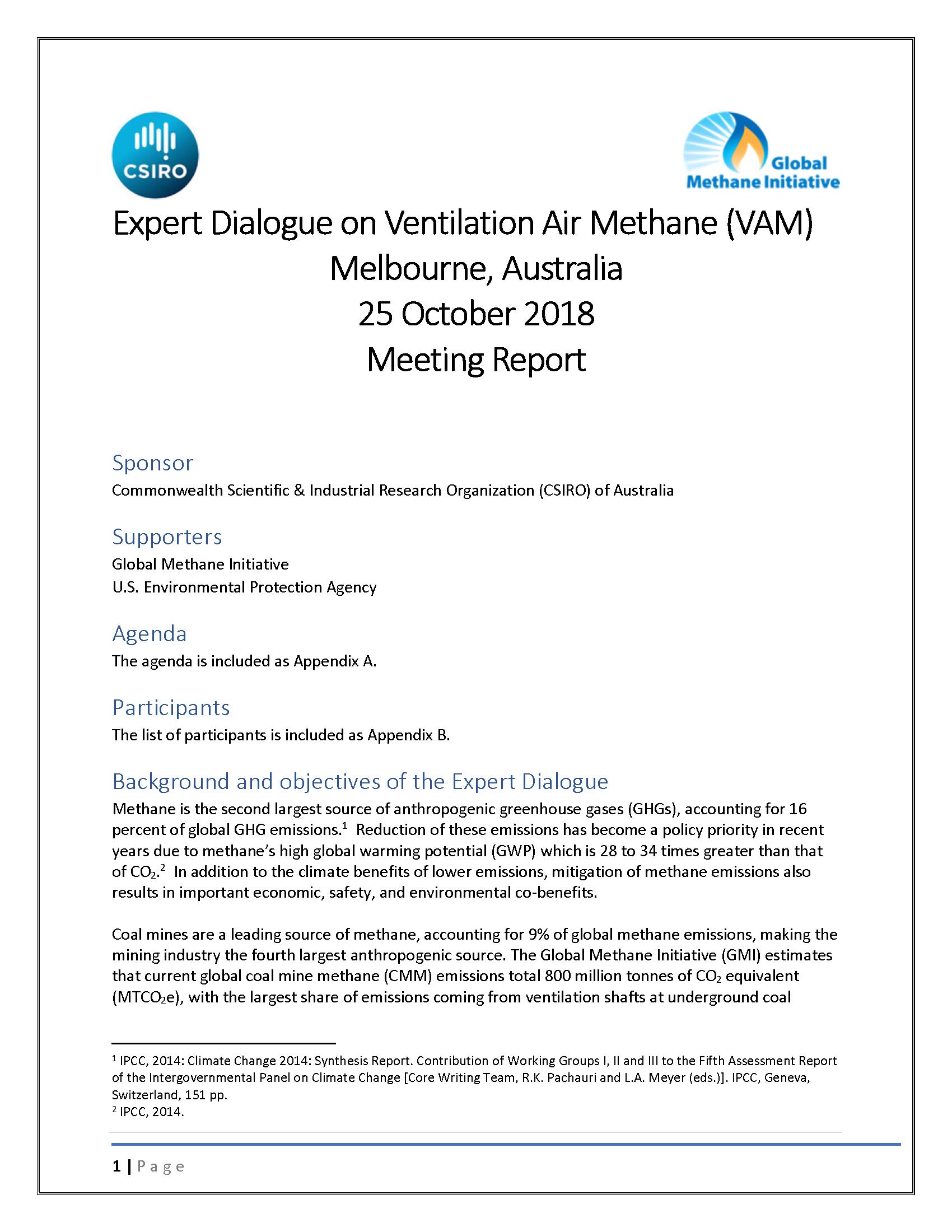 COAL MINES | Global Methane Initiative