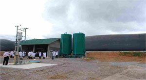 Channel digester in Thailand.